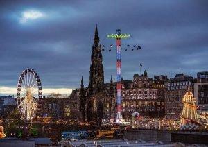 Edinburghs Winter Festival attractions