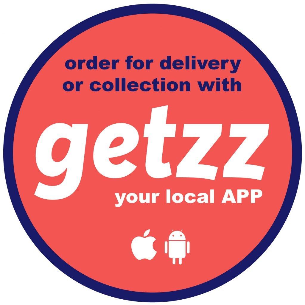 GETZZ - BUSINESS WINDOW STICKER