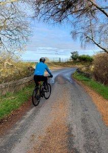 cyclist-on-a-narrow-road
