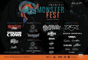 Monsterfest 2021 Lineup